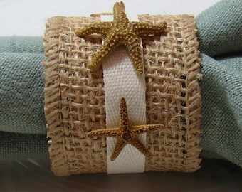 Napkin Rings - Sea Shell