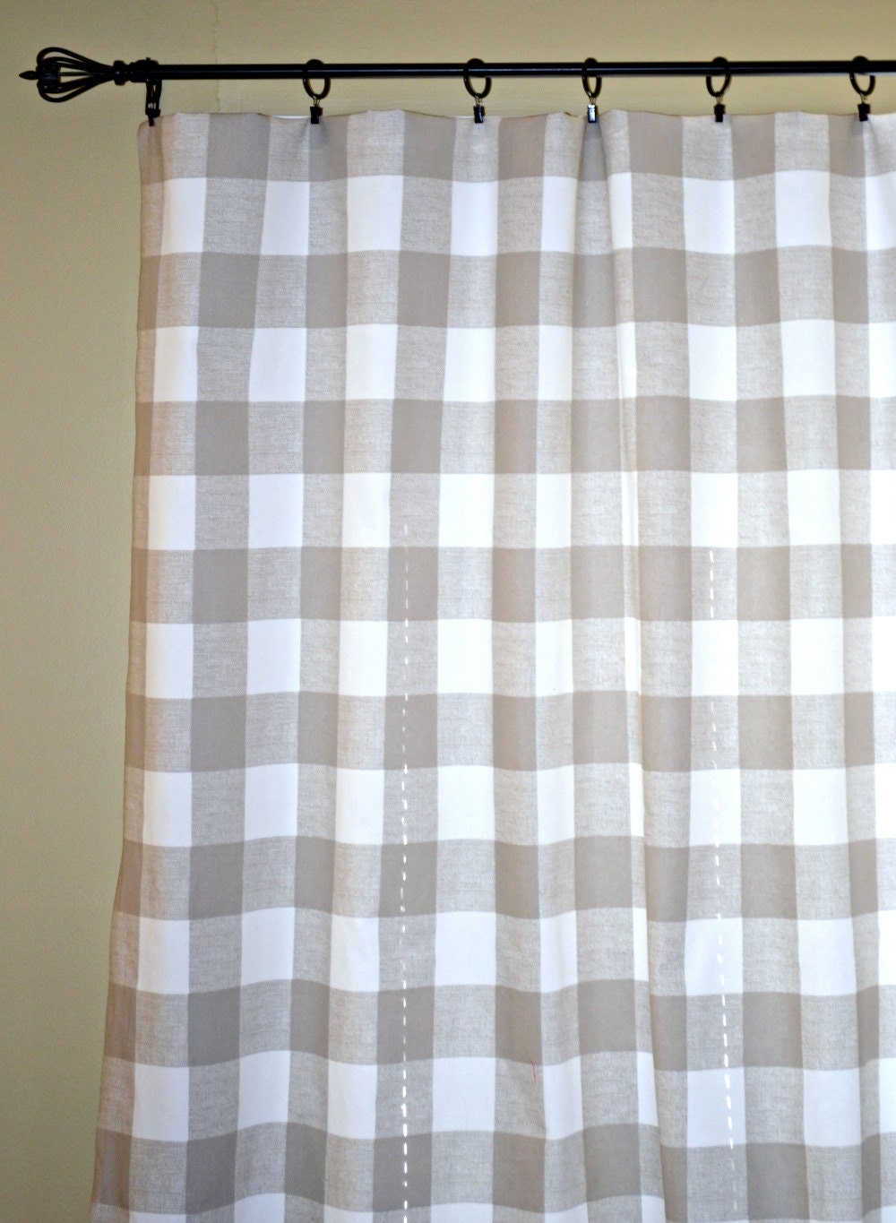 Yellow And Gray Curtains Target Brown Buffalo Check Curtains