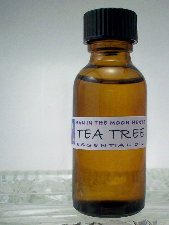 Tea Tree Essential Oil  - 1 Ounce - Undiluted Soapmaking Bath and Body Product Supply - Melaleuca Diffuser Oil