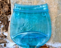 Blue Pint Ball Canning Jar Spoon Rest