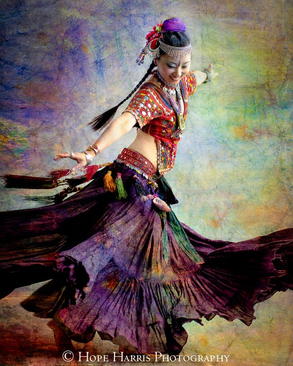 Tribal Dance,belly dance, movement, joy, twirl, happiness, colorful, red, purple,dance, middle eastern