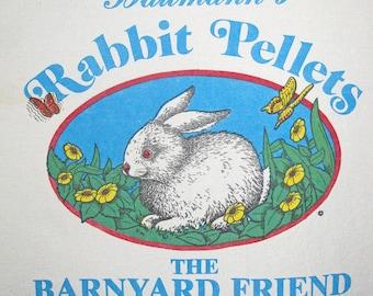 Rabbit Pellets Feed Sack Design Panel OOP