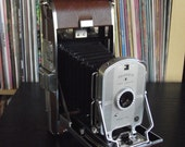 RESERVED 1940's Polaroid Land Camera Model 95B with Case, Instructions, & Accessories