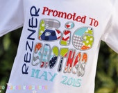 Personalized Big Brother Promotion Shirt /  Pregnancy Announcement