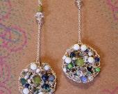 Spring Fever Mandala Dangle Earrings
