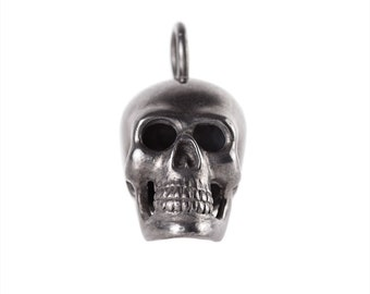 Big Black Skull Pendant