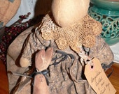 Handmade  Angelica Rabbit and Her Pull Toy Bunny    HAFAIR