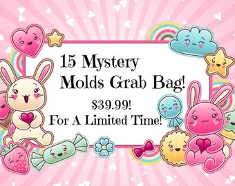 SALE 15 MYSTERY Mold Grab Bag! only 39.99! For A Limited Time!