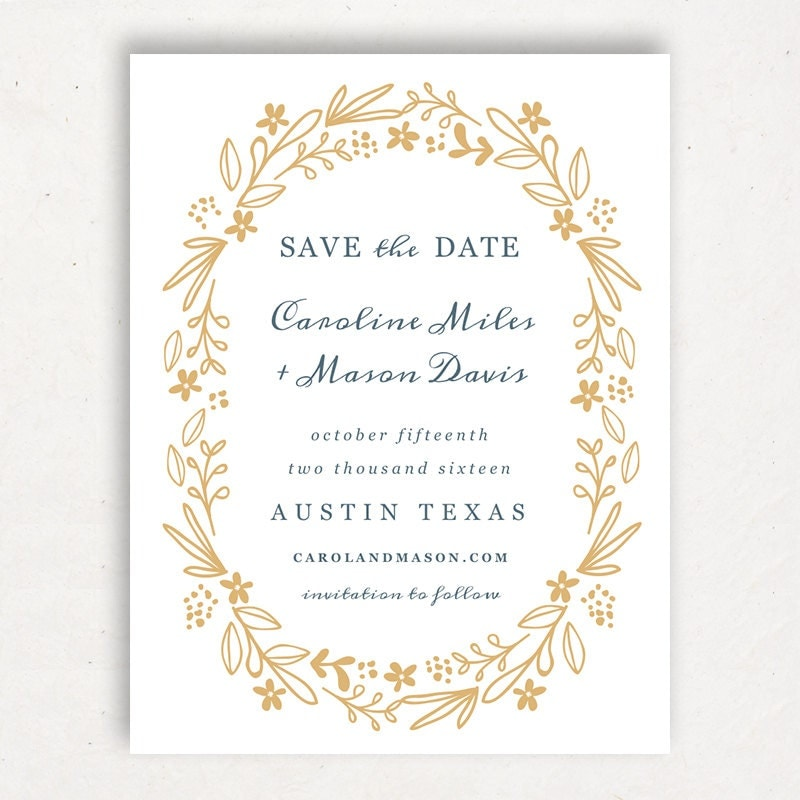 Printable save the date template instant download for Save the date templates free download