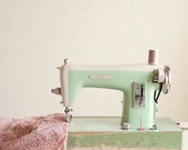 Vintage sewing machine art print