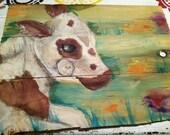 Custom Original Painting, Reserved for Alana