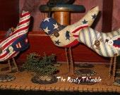 Primitive Americana Birds set of three