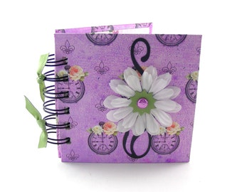 Time to Bloom Gratitude Book, gratitude journal, thank you book, thank you journal, gratitude diary, blessings book - lavender
