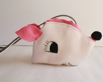 SHOP SALE***Pinkie deer  Purse-Kids Purse-doll Purse