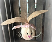 Bunny rabbit head ornament