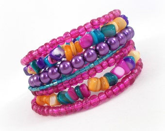 Bollywood Jewelry, Bollywood Bangles, Colorful Bracelet, Boho Jewelry, Boho Bracelet, Bracelet Set, Bohemian Jewelry, Stacking Bangles