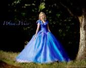 Cinderella Dress - Cinderella Costume, Adult Cinderella Dress 2015, New Cinderella ball gown