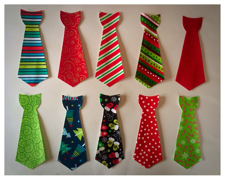 diy no sew iron on neck tie applique holiday applique by katelyb. Black Bedroom Furniture Sets. Home Design Ideas
