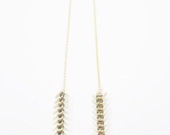 Bound Vertebrae Necklace
