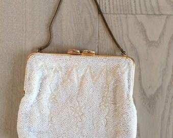 Vintage Walborg Belgian Beaded Evening Purse Handbag