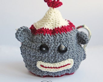 Crochet Tea Cozy PATTERN / Sock Money Teapot Cover / Teacozy / PDF Tutorial / Warmer / Kitchen Decor