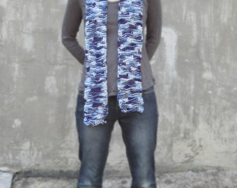 Navy Camo scarf