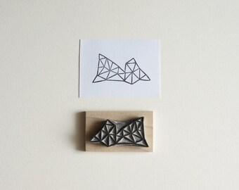 Crystal Configuration 03 - Hand Carved Stamp
