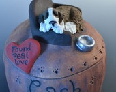 Custom Dog Urns or Pet Urns- Dog Urns, Pet urns, Pet Cremation, Dog Urn, made to order any breed