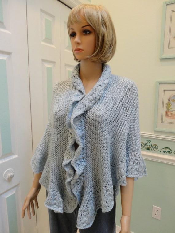 Knitting Pattern For Kate Middleton s Shawl : READY TO SHIP : Princess Kate Middleton style shawl by UptownKnits