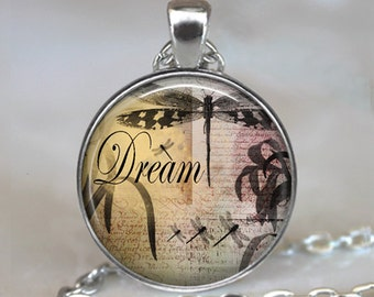 Dragonfly Dream pendant, dragpmfly necklace, dragonfly dream necklace, dragonfly pendant, dragonfly keychain key chain key ring
