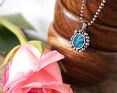 Australian Lightning Ridge Black Opal Sterling Silver Pendant Necklace... Fire And Light...