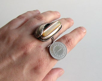 Costa Rica coin ring