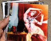 Colorful Gypsy Portrait, Fantasy Photography, Lounge wall art, Gothic Home Decor, Dark Art, Surreal Portrait Photo 5x5 8x8 10x10 13x13