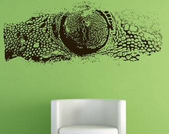 Vinyl Wall Decal Sticker Lizard Eye 5524s