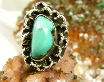 Turquoise Sterling Rings