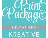 Add a Print Package