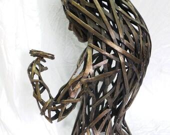 Big dragonfly, a new bronze sculpture