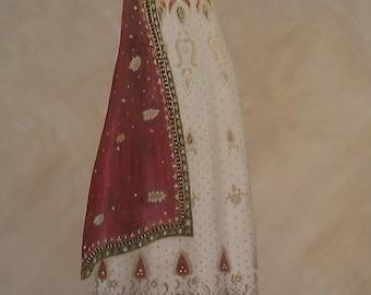 Custom Wedding Gown Painting