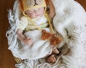 Crochet Little Lion Hat (Newborn)