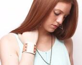 leather bracelet ORIGAMI
