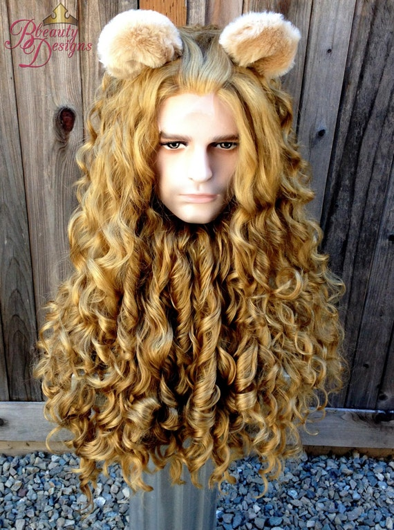 Wizard Of Oz Lion Wig 54