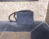 "Carlisle briefcase, handmade leather bag, mens leather work briefcase, 15"" laptop bag with zip,  handmade leather bag and briefcases by Aixa"