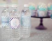 Frozen Water Bottle Labels- Printable