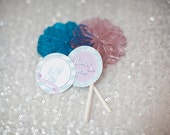Frozen Party Favor Tags- Printable, Instant Download