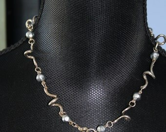 Cecile Jeanne Sterling Silver Necklace