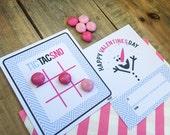 Valentine Collection. TiC TAC SNO-man. DiGITAL DOWNLOAD. DiY Printable Design. Pinkadot Shop