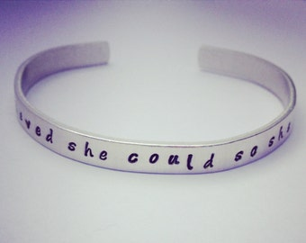 Graduation bracelet  x  she believed she could so she did  x  FREE UK POSTAGE x graduation inspirational quotes