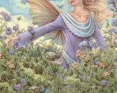 Meadow Faery 8.5x11 Signed Print