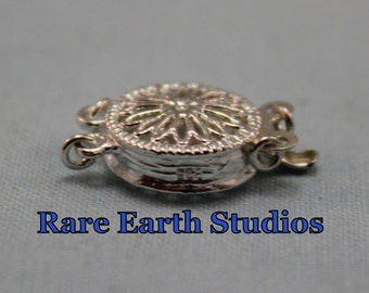 Sterling Silver Filigree Clasp 12mm 60315033