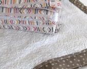 Faux Fur Baby Blanket, Gender Neutral, Baby Gift, Stroller Blanket